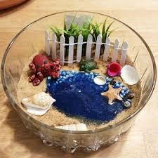 fairy garden kit miniature beach garden fairy garden supplies