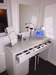 diy vanity mirror lights for bathroom and makeup station ikea table lighted professional light