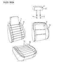 1991 jeep grand wagoneer seat covers