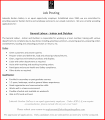 7 How To Write A General Resume New Hope Stream Wood Summary For