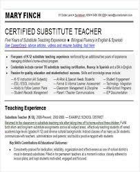 40 Teacher Resume Templates In Word Free Premium Templates Fascinating Teacher Skills For Resume