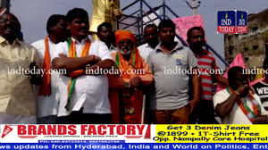 Bjp Celebrates Gujarat Himachal Victory In Kodangal