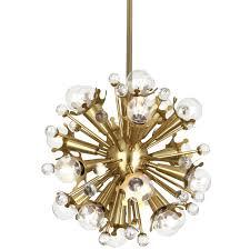 gold sputnik chandelier mini alt image 1 uk gold sputnik chandelier