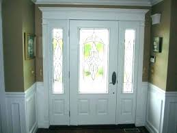 front door window coverings blinds for doors with glass ideas side
