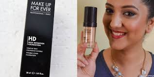 makeup forever hd foundation review india