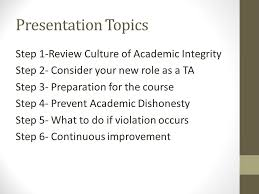 academic dishonesty fundamentals of prevention susan pocotte ph  2 presentation topics