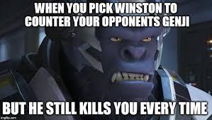 Winston Overwatch Imgflip