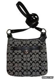 Coach Penelope Signature C Hippie Crossbody Bag Handbag with Leather Trim  Style - PinBuy Couch Bag
