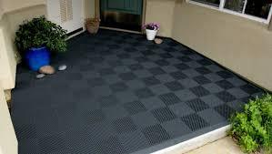 rubber floor tiles awesome patio rubber tiles