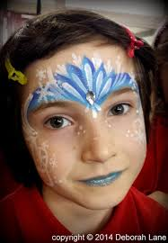 a frozen inspiration the most requested designs are icy face painting by deborah lane