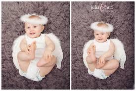Baby Ava's styled baby photography - Julia and Mia