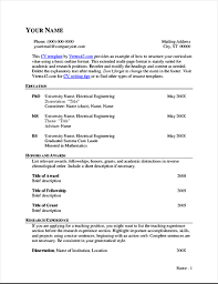 Cv Resume Stunning Extended CV Resume