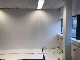 Floorplazanl Plaatsen Wand Aanbrengen Glasvezel Behang Project
