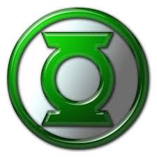Green Lantern Logo created with PhotoShop. | Green Lantern Related ...
