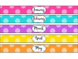 binder spine labels monthly binder spine labels by barnetts school house tpt