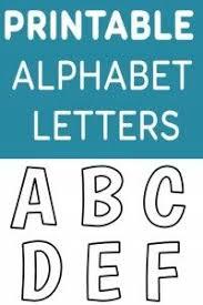 Printable Free Alphabet Templates Ideas For The House Pinterest