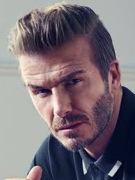 Scruffy Facial Hair Style slicked back hair hairstyles 1950 by wearticles.com