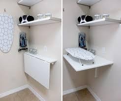 innovative wall mounted folding table 1000 ideas about wall mounted table on wall mount