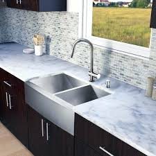 33 inch stainless steel farmhouse sink all in one stainless steel double bowl farmhouse kitchen sink kraus 33 inch farmhouse double bowl stainless steel