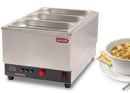countertop food warmer snack food equipment electric bain marie three tank