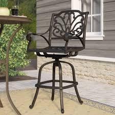 fleur de lis bar stools. Best Fleur De Lis Living Brownridge Outdoor Cast Aluminum Patio Bar Pic Of Tiki Set Inspiration Stools .