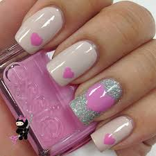 Pink Nail Art Design 30 Easy And Amazing Nail Art Designs For Beginners Free