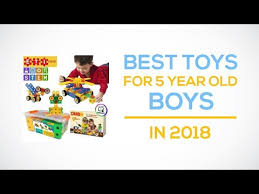Best Toys For 5 Year Old Boys In 2018 Reviews - YouTube