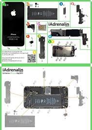 Iphone 4 Screw Chart Iadrenalin Extreme Smartphone Repairs