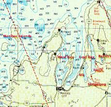 Grand Traverse Bay Depth Chart Boating America Feature Story