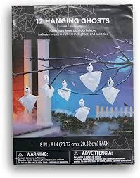 Halloween Outdoor Decorations - 12 Hanging Ghosts ... - Amazon.com