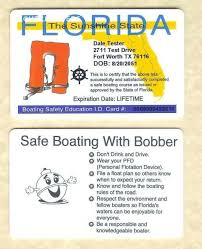 1-800 Id Card Identification For License Bobber 1800yachtcharters Safe Boating Yacht Charters