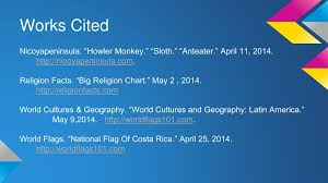 Ppt Costa Rica Powerpoint Presentation Free Download Id