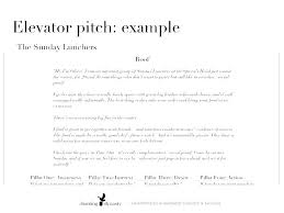 Elevator Speech Template Pitch Examples For Business Students Pdf