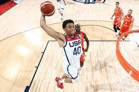 Keldon Johnson shines in Team USA's ...