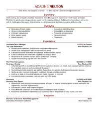 Assistant Store Manager Resume Sample Assistant Store Manager Resume Sample Manager Resumes LiveCareer 1