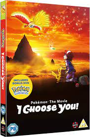 Pokemon The Movie: I Choose You! DVD with Bonus First Movie Disc UK Import:  Amazon.de: Sarah Natochenny, Haven Burton-Paschall, Michael Liscio Jr.,  Alyson Leigh Rosenfeld, Michele Knotz, Jimmy Zoppi, Rodger Parson, Sarah