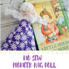 no sew pioneer rag doll here is a quick and easy tutorial on how to
