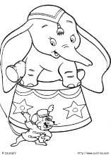 Small Picture Dumbo coloring pages on Coloring Bookinfo
