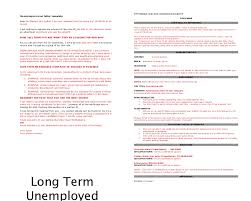 Best Ideas Of Cover Letter Samples For Long Term Unemployed In