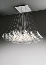 valenti luce marco agnoli sphere 37 pendant lamp glass chandelier