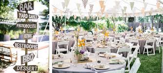 You Have To See This Gorgeous DIY Backyard WeddingBackyard Wedding Diy