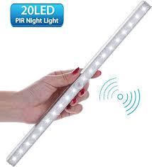 pir led cabinet light motion