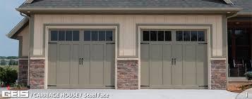 garage door repair milwaukeeSteel Face  Carriage House  GEIS Garage Doors  Milwaukee