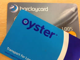 unused oyster card lying around