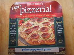 frozen friday digiorno pizzeria primo pepperoni pizza