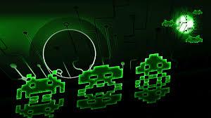 Graphic Design Green Green Invader Animated Wallpaper Graphic Design 42489