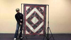 Quilt Display Stand How to set up a Quilt Display Stand Original Model YouTube 2