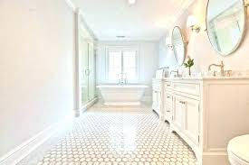 small hexagon tile bathroom floor patterns f