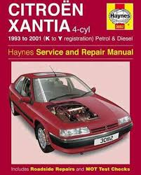 1993 2001 citroen xantia haynes service repair manual