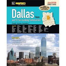 Universal Map Dallas Texas Street Guide Walmart Com